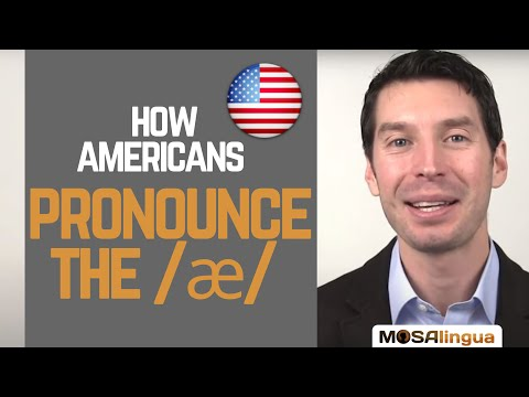 How to pronounce the /æ/ sound | American English Pronunciation