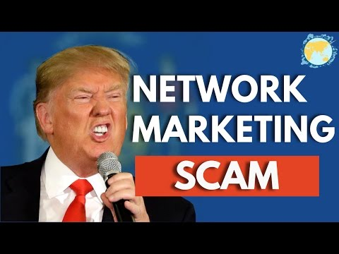 Don't FALL For MULTI LEVEL MARKETING - The Network Marketing Scam