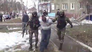 Неудачное ограбление банка в Иркутске