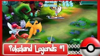 Pokeland Legends #1 - Primeiras impressões + Jogo para Android (Game of Monster: Legendary)