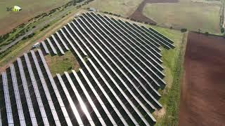 La Matallana, planta fotovoltaica de Som Energia (Lora del Río, Sevilla)