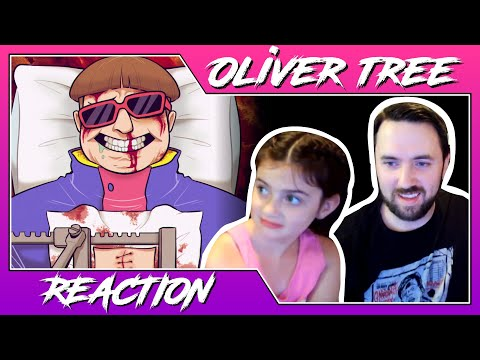Dad and Daughter Reaction | Oliver Tree - Miracle Man #olivertree #miracleman