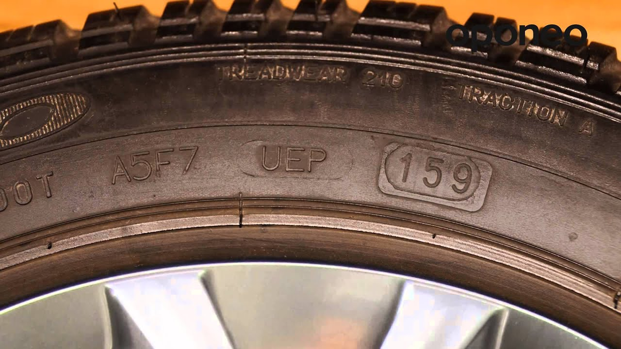 Tyre Production Date Dot Hints