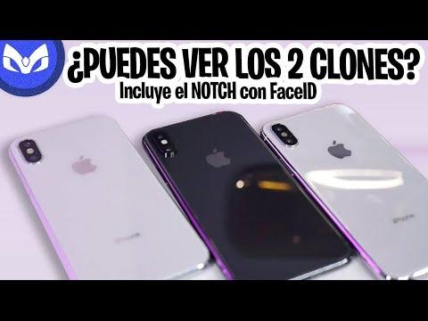 POR FIN TENGO iPhone X CLON REAL CON NOTCH !