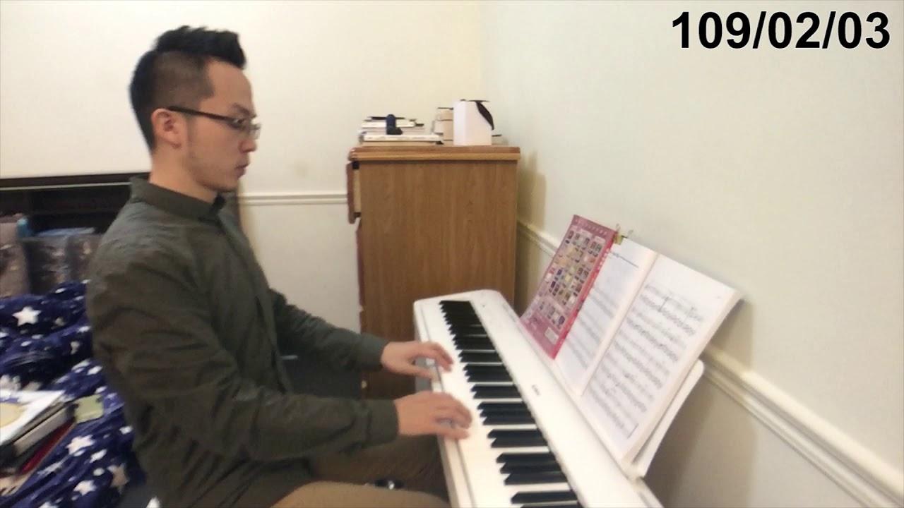【鋼琴紀錄#13】練習Am和弦 新左手配樂及新歌曲(2M3W) - YouTube