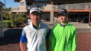 Mountain View golfers recap their boys golf district title