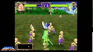 Dragon Force II Gameplay - Monks, and Beastmen, and Robots, oh my!