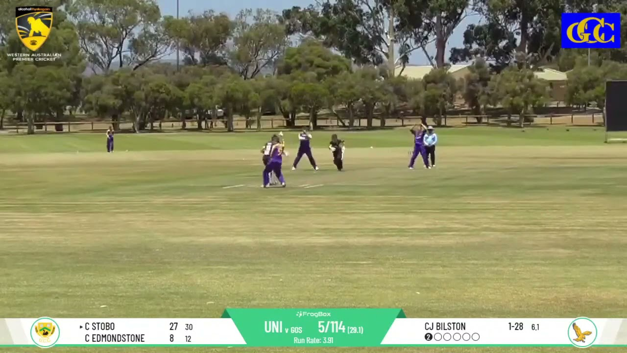 UCC vs Gosnells DCC Round 11 First Grade - Charlie Stobo Half-Century Highlights Package