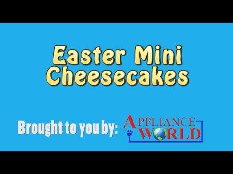 Easter Mini Cheesecakes Recipe