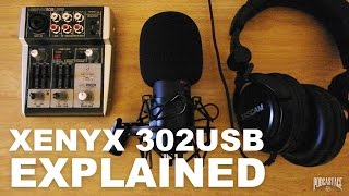 Behringer Xenyx 302USB Mixer Review / Test / Explained