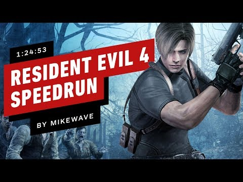 Resident Evil 4 Speedrun Finished In 1 Hour 25 Minutes (by M