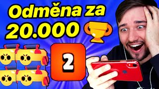 20000 MEGA BOX OPENING! HARD PUSH 900 MAX! | Brawl Stars