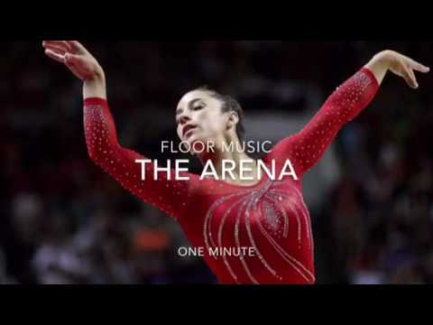 The arena gymnastics floor music one minute cut