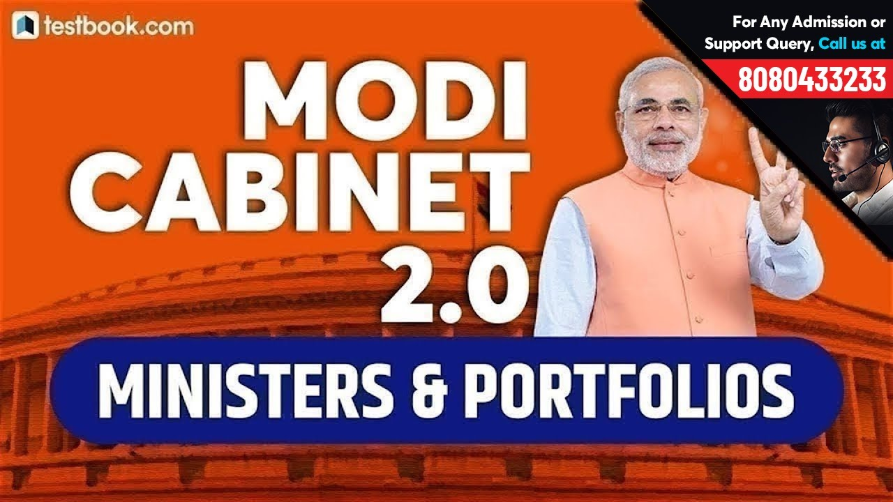Cabinet Ministers of India 2019 PDF – Updated List of PM Modi's