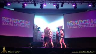 Dance Vida salsa team Benidorm 2014