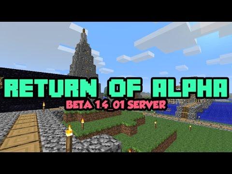 how to make a minecraft alpha server 2017
