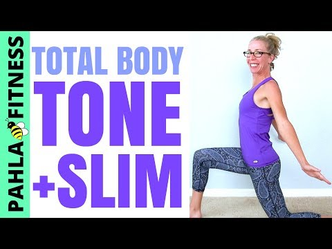 TONE, SLIM + SCULPT | 30 Minute Low Intensity Total Body SHAPING Workout without Equipment