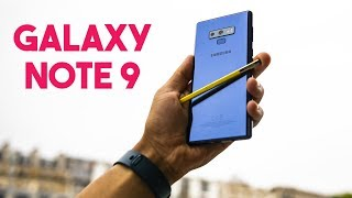 TEST DU GALAXY NOTE 9