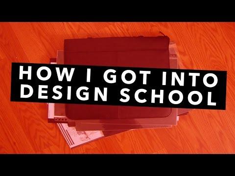 How I Got Into Design School + Portfolio Tips!