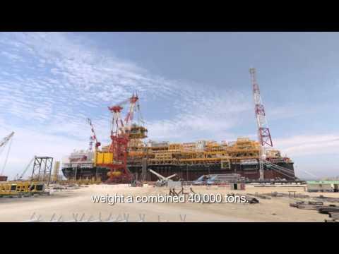 CLOV, a major deep offshore project