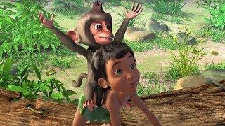 Маугли -Книга Джунглей -  Все серии сразу - сборник серий 36 - 40 –развивающий мультфильм для детей