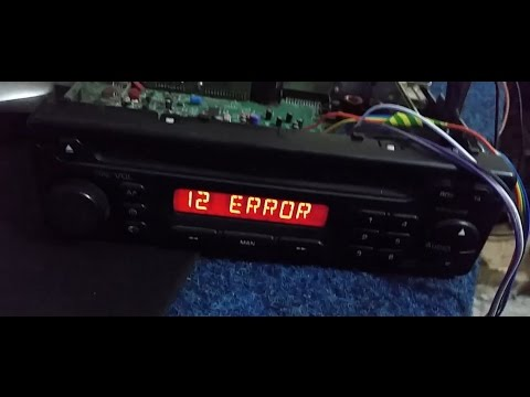 PU 2294A C,  RADIO  REMOVE ERROR,  CODE OFF.