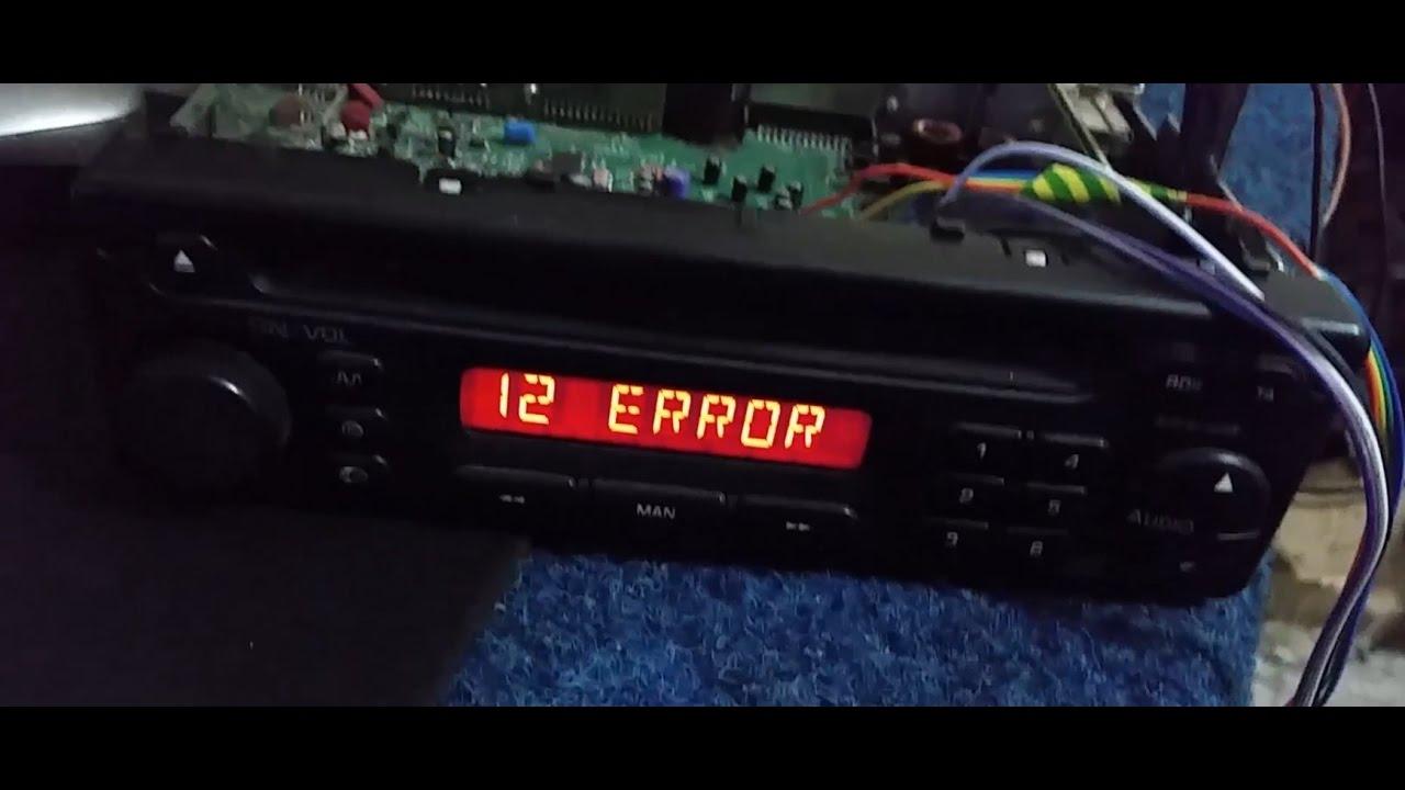 PU 2294A C, RADIO REMOVE ERROR, CODE OFF. - YouTube