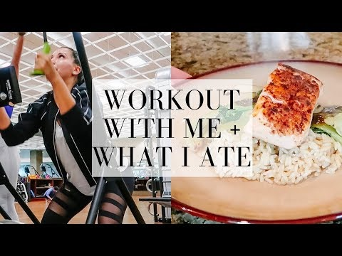 WORKOUT WITH ME + WHAT I EAT IN A DAY | LuxMommy