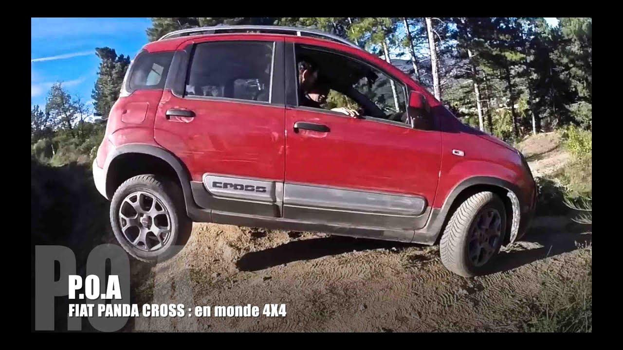 p o a fiat panda cross en mode 4x4 pisode 2 youtube. Black Bedroom Furniture Sets. Home Design Ideas