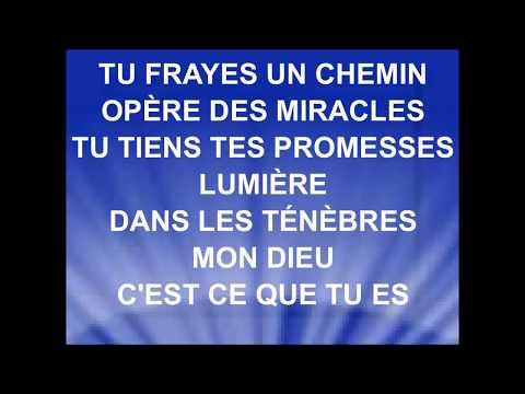 TU FRAYES UN CHEMIN - Nadège Jean & Hosanna A'live Music - emci tv