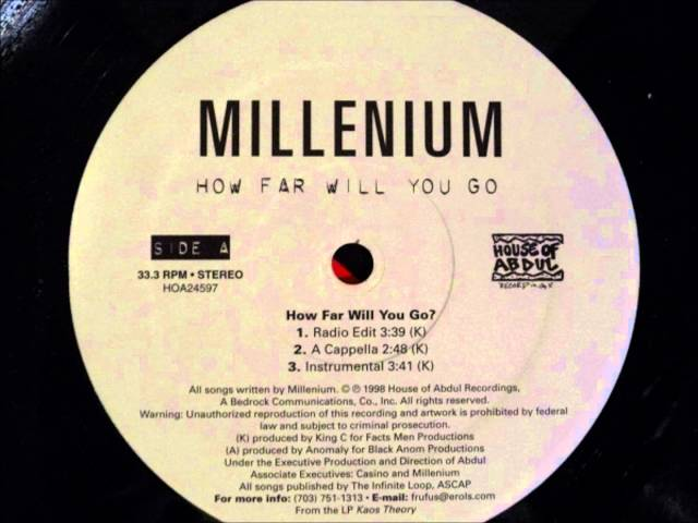 Millenium - How Far Will You Go?