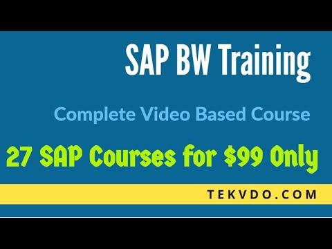 Sap bi/bw training in bangalore dating