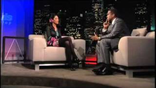 bria valente  full interview on tavis smiley altered