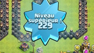 ROAD TO LEVEL 300 HDV 9 | Level 229 UP ! [clash Of Clans FR]