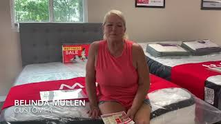 MATCO Mattress Testimonials by Belinda Meyer Mullen