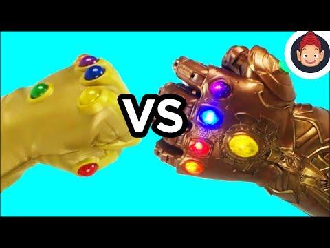 Avengers Infinity Gauntlet Challenge Toy Unboxing