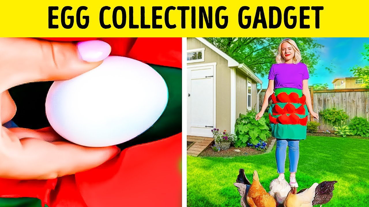 Extremely Useful Gadgets For Your Garden    Easy Ways to Collect Food