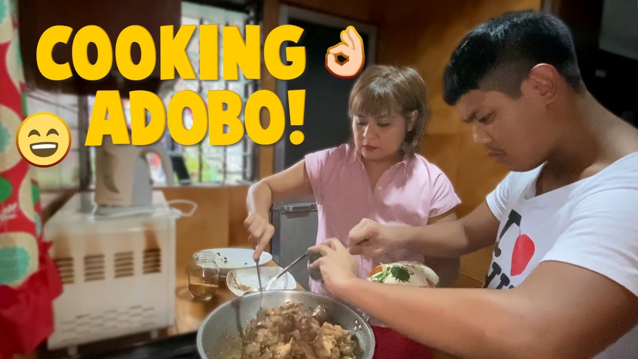 Cooking Adobo! | CANDY & QUENTIN | OUR SPECIAL LOVE
