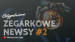 🔴 ZEGARKOWE NEWSY na żywo – odc. 2 | TIKTALK LIVE