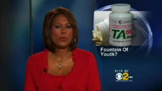 """CBS News on Telomeres with Dr Ed Park: """"The Fountain of Youth in a Tiny Capsule?"""" - TA 65"""