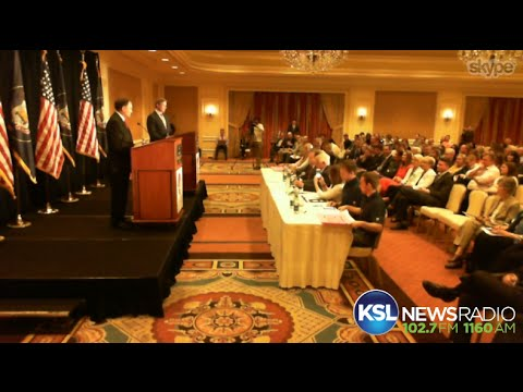 Utah Republican gubernatorial debate