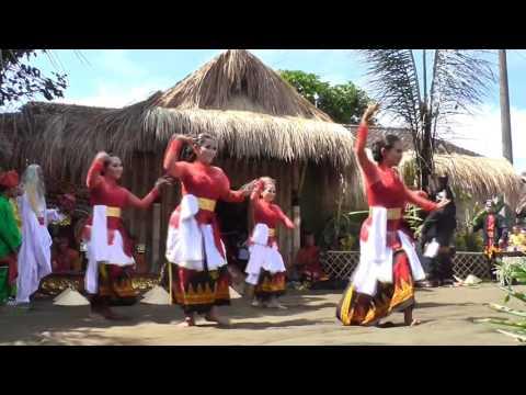 Legenda Sadap Nira Rondo Reni Opening Dance Osing Culture Desa Banjar