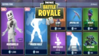 FORTNITE ITEM SHOP TODAY 1 FEBRUARY | MARSHMELLO SKIN! | FORTNITE DAILY SHOP
