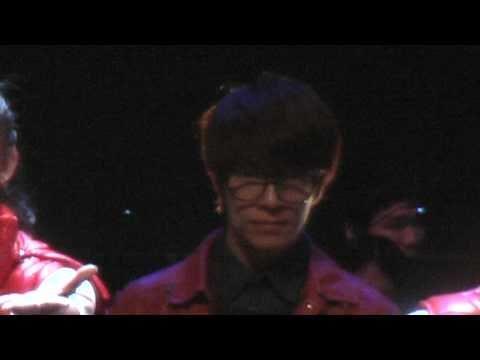 101220 Donghae @ Beautiful Life Musical : Bye~