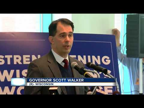 Walker unveils plans to prepare workforce on days to come