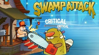 Swamp Attack - Outfit7 Limited EPISODE 2 Level 7-8 Walkthrough