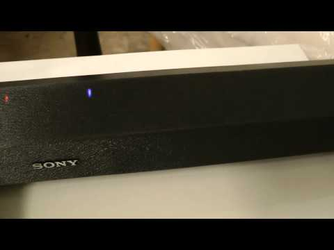 ThIs the Sony HTCT60BT Sound Bar Review