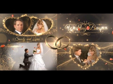 After Effects Template Wedding Package