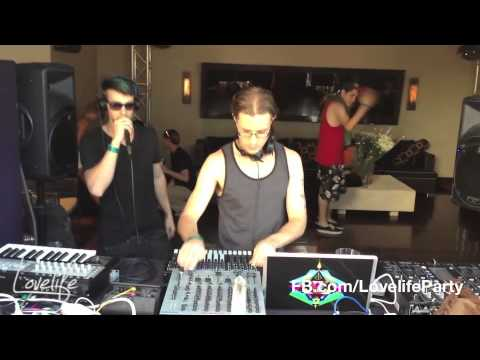 [Part 1] Dance Spirit Live at Lovelife - Th' Crows Nest Pirate Pool Party (6.9.13)