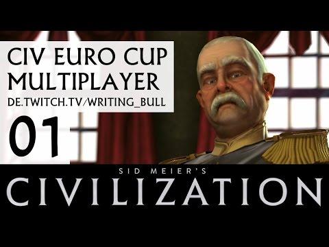 CIVEuroCup: Multiplayer Civilization V (01) [deutsch]